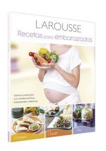 Portada de Recetas para embarazadas