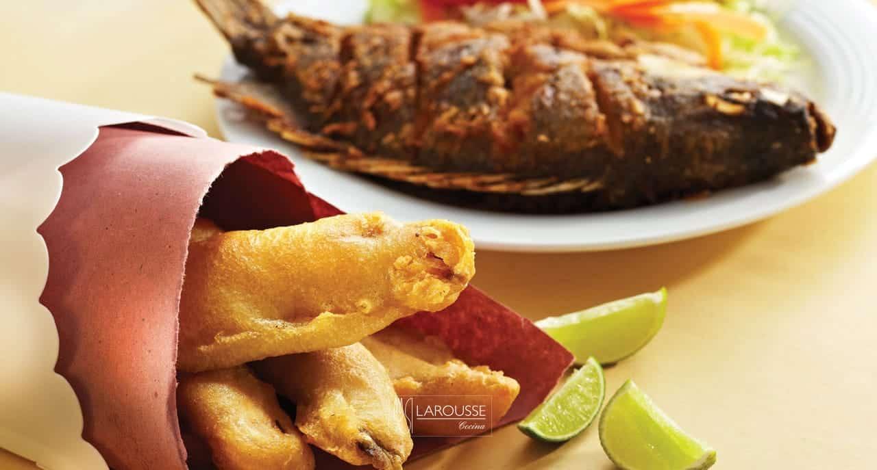 Pescaditos Fritos Y Mojarras Fritas Larousse Cocina