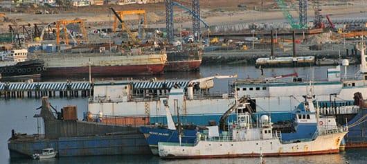 Foto: Vista panorámica del puerto de Ensenada, Baja California. © Shutterstock.