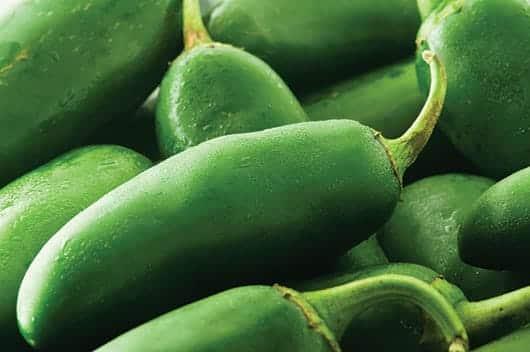 Foto: Chiles verdes. © Thinkstock.