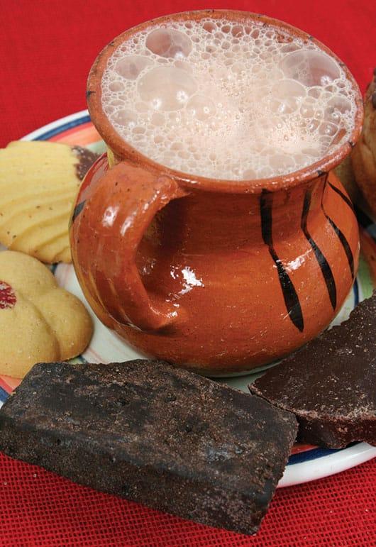 Foto: Chocolate en jarrito. © Fotodisk.