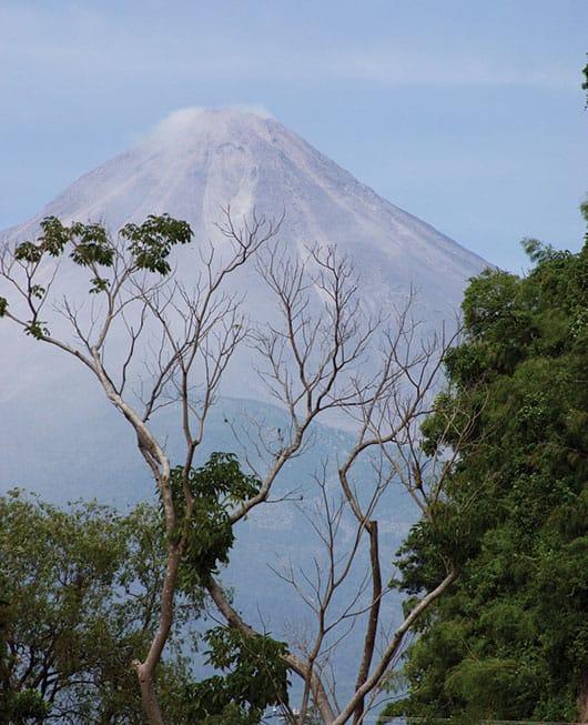 Foto: Volcán de Fuego. © Shutterstock.