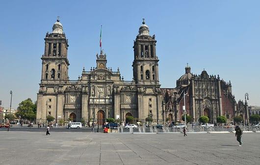Foto: Catedral Metropolitana. © Shutterstock / Reproducción autorizada por el INAH.