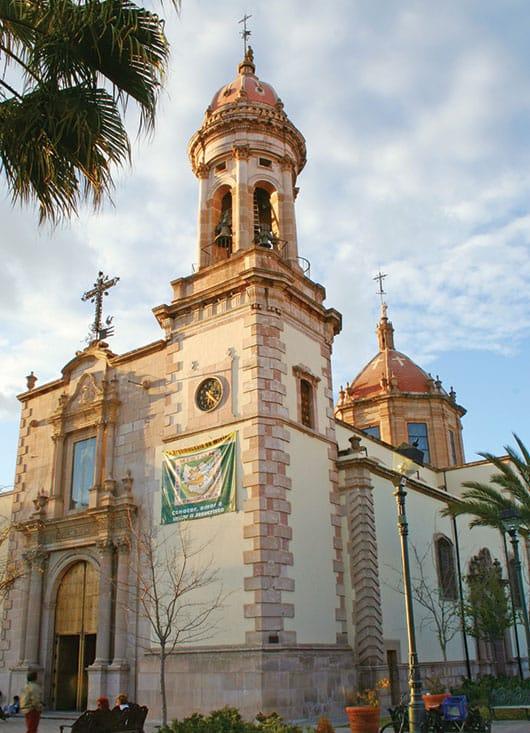 Foto: Templo de San Agustín. © Shutterstock / Reproducción autorizada por el INAH.