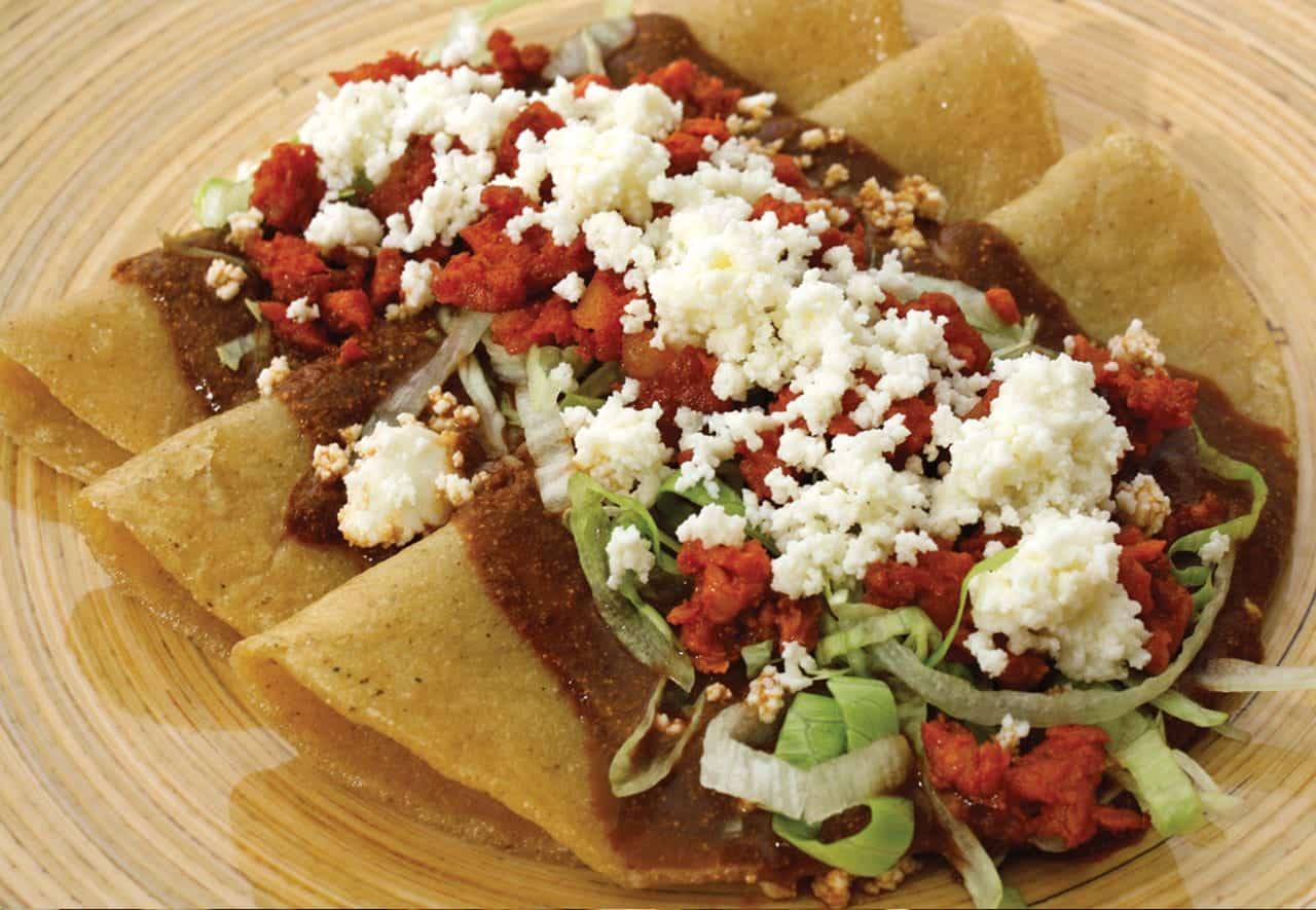 Foto: Enchiladas de pulque. © Ediciones Larousse.