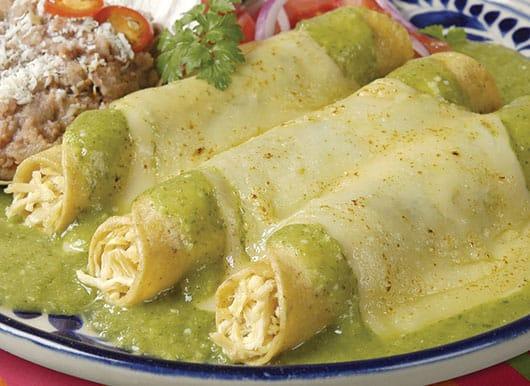Foto: Enchiladas suizas. © Shutterstock.