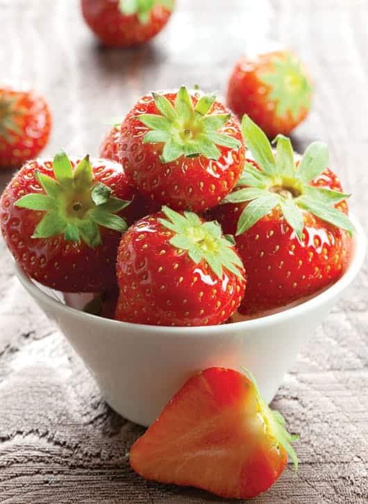 Foto: Fresas en tazón.© Shutterstock.