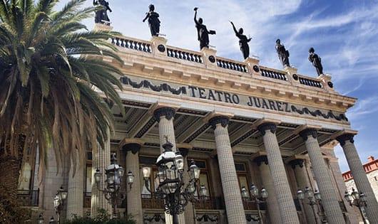 Foto: Teatro Juárez, Guanajuato.© Shutterstock.