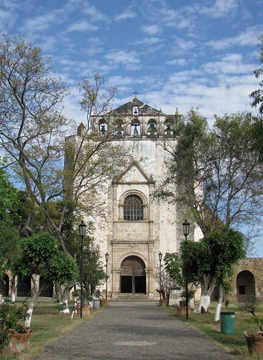 Foto: Ex convento de san Juan Bautista,Tlayacapan. © Archivo Sol de México / Reproducción autorizada por el INAH.