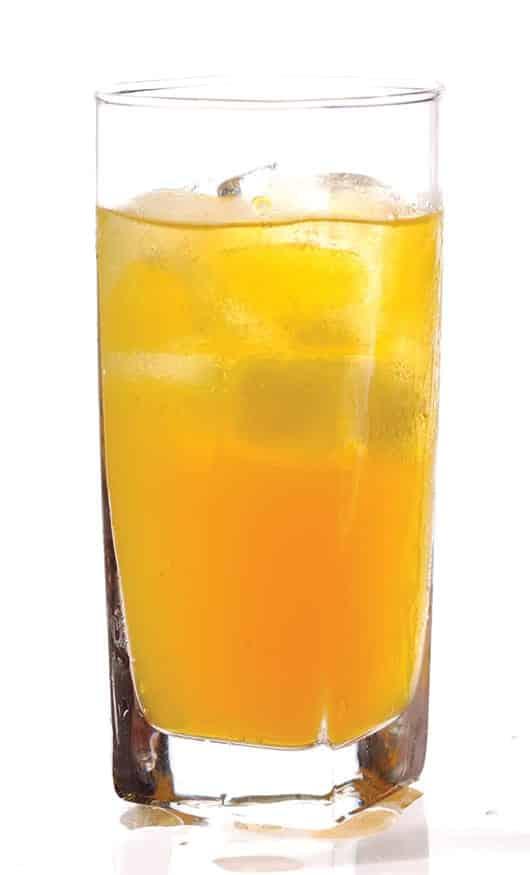 Foto: Bebida a base de naranja. © Shutterstock.