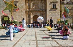 Danzantes en Oaxaca