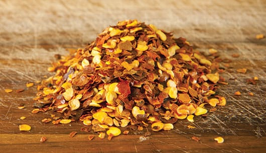Foto: Semillas de chile secas. © Shutterstock.