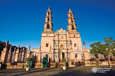 Foto: Catedral de Aguascalientes. © Reproducción autorizada por el INAH / Rodrigo Torres.