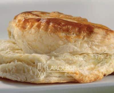 Foto: Empanada de hojaldre. (Bertha Herrera). Pan de dulce
