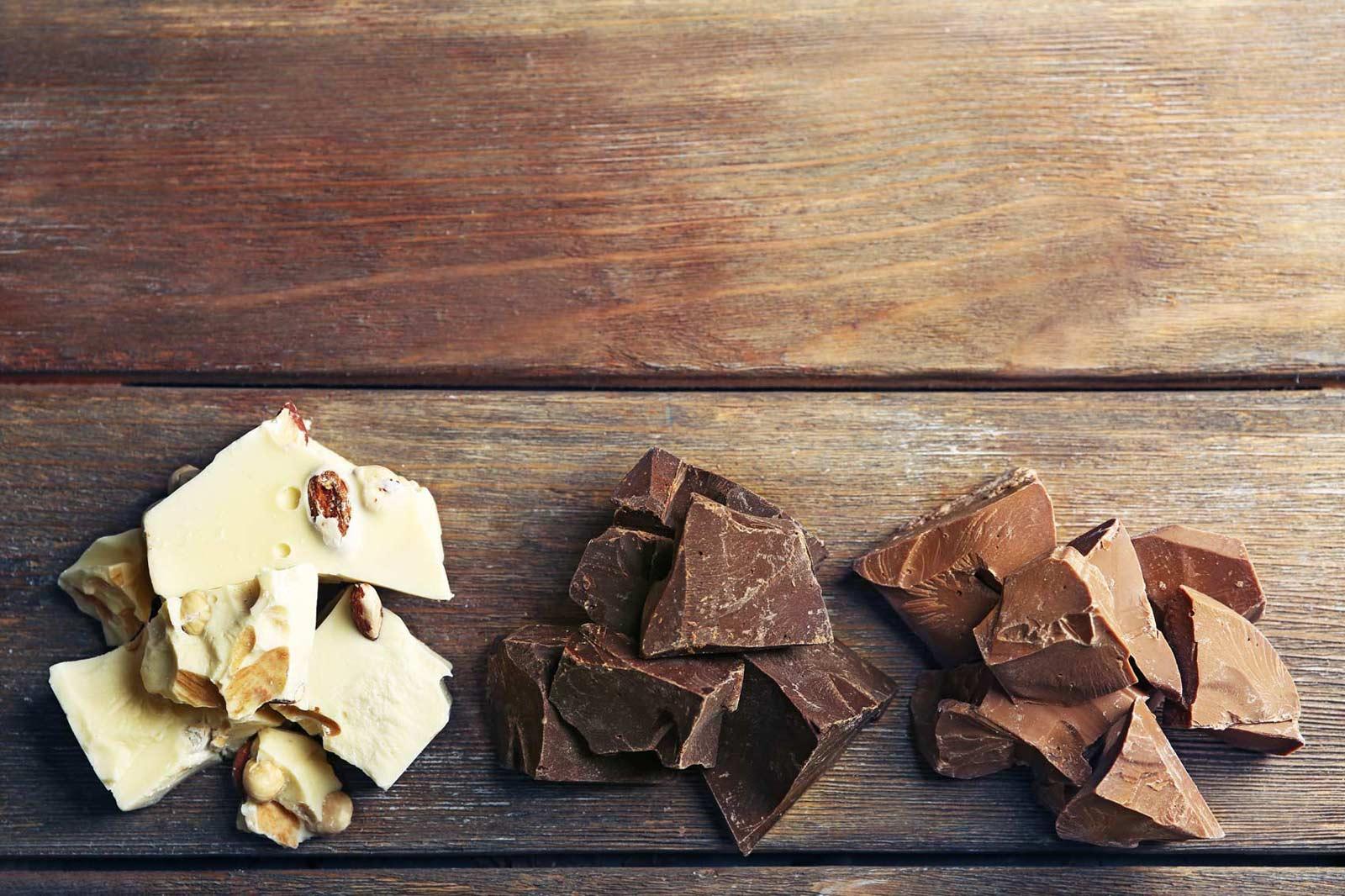 La mejor forma de conservar chocolate