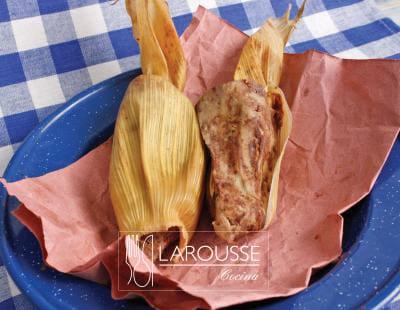 Foto: Tamales de frijol. (Archivo Gráfico Larousse).
