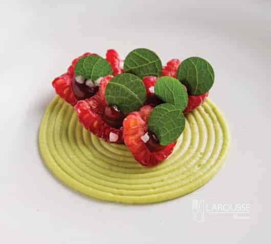 Frambuesa-aguacate-vinagre-y-hoja-santa