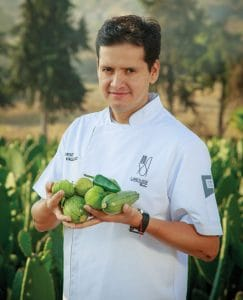 Chef Jorge Vallejo