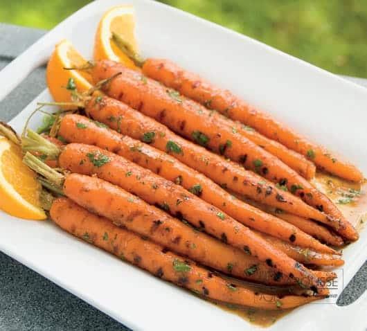 Zanahorias-glaseadas-con-naranja