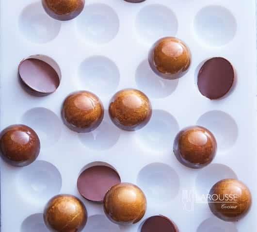 Bombón de caramelo suave con cítricos