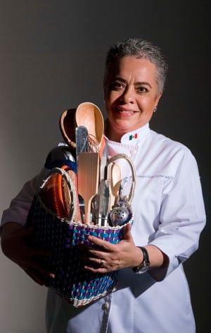 Chef Guadalupe García de León del Paso