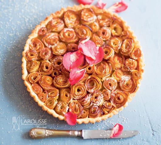 bouquet de tarta de manzana