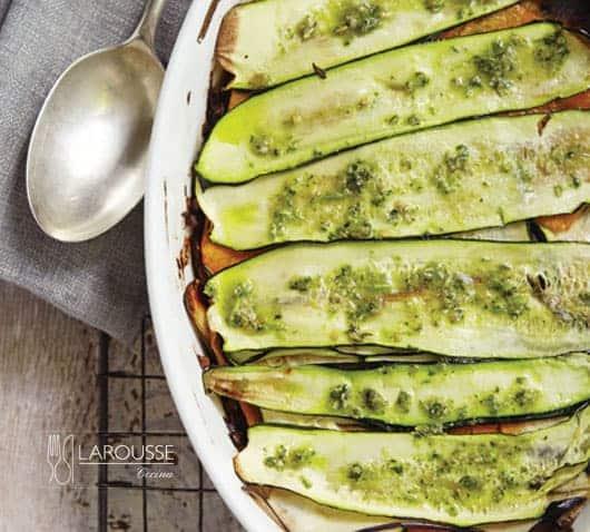 lasaña de vegetales
