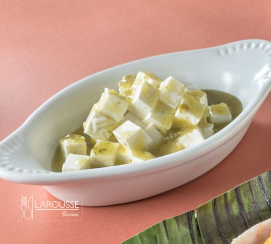 queso en salsa ligera