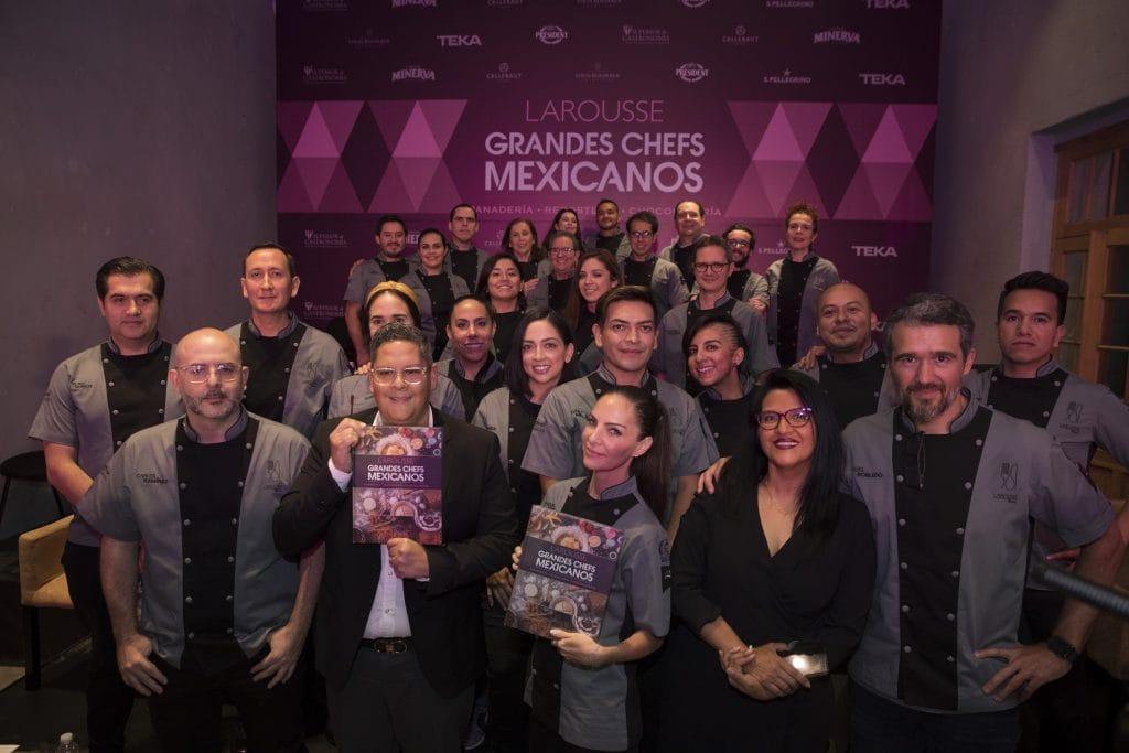 Presentan Grandes Chefs Mexicanos: panadería, repostería y chocolatería