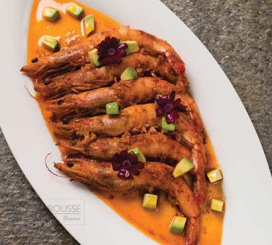 Camarones-paprika