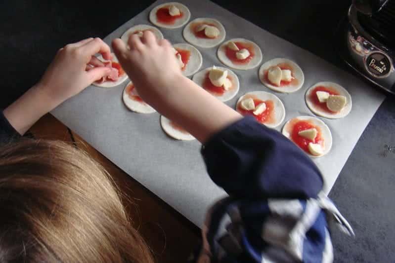 Cocinar con los niños en tiempos de cuarentena