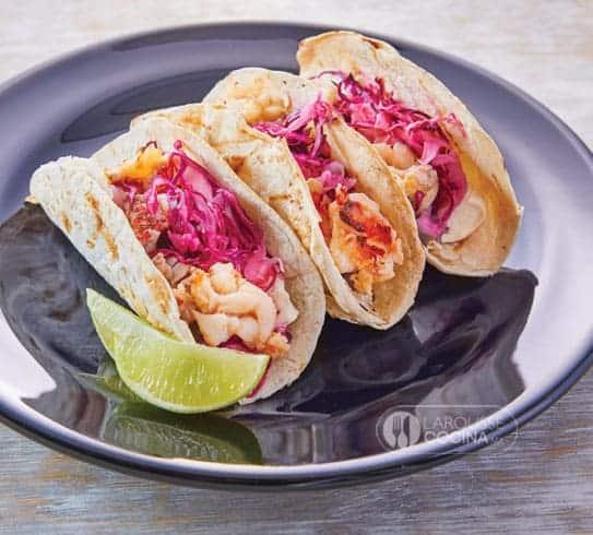 Tacos de langosta