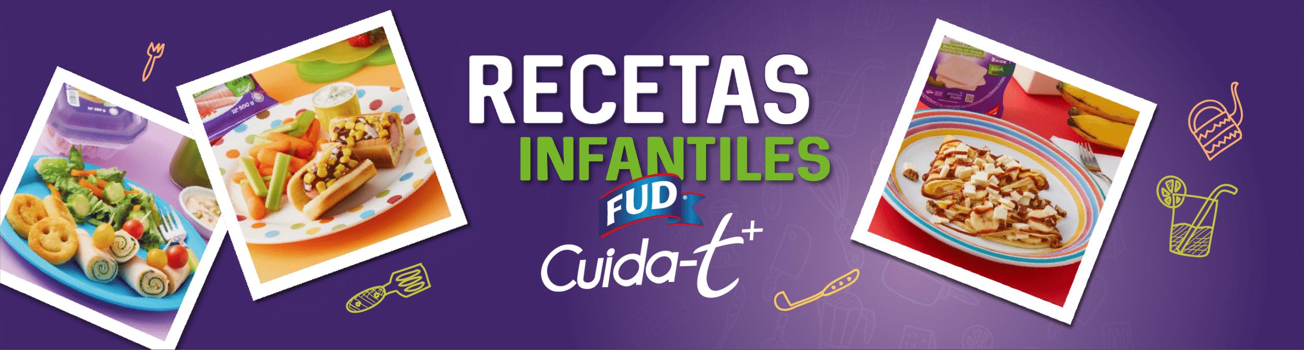 Recetas infantiles con FUD CuidaT+